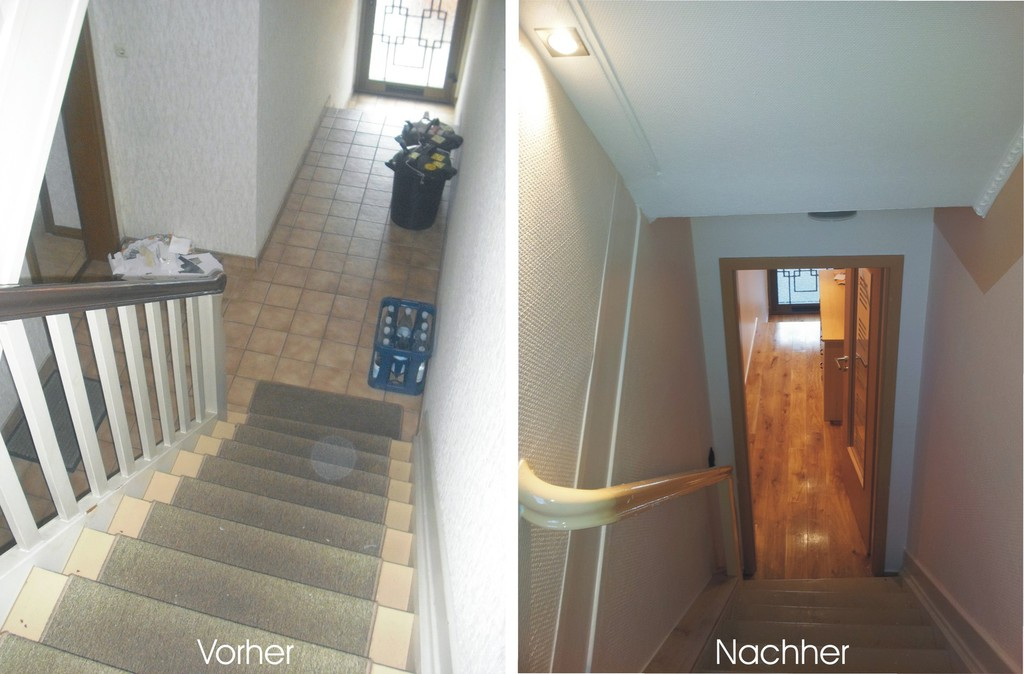 Treppenhaus modernisieren  llrounder - Altbausanierung & Modernisierung